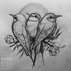 3 Little Birds 🎶🇯🇲 #sketch #sketchbook #adelaidetattoos #ryanbaranikow