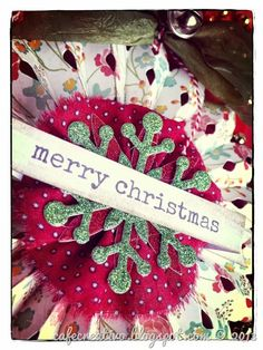 Christmas Medallion Ornament; Sizzix - Big Shot, Decorazione per Natale