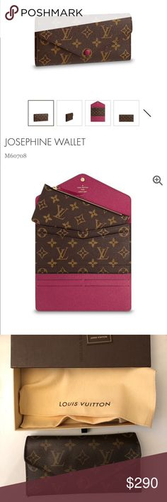 Louis Vuitton Josephine Wallet Bought in 2014 c614e732fe92d