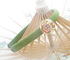 Green+headband+headband+with+button+headband+with+by+HandMadeWind