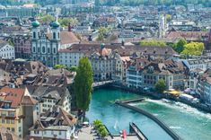 Is Lucerne the most beautiful city in all of Switzerland? Check out this post for plenty of photos and tips for your next visit to this gorgeous city. Switzerland Places To Visit, Switzerland Cities, Switzerland Vacation, Lucerne Switzerland, Italy Rail, Rhine River Cruise, Travel 2017, Living In Italy, Countries To Visit