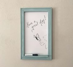 Best Indoor Garden Ideas for 2020 - Modern Dry Erase Whiteboard, Dry Erase Board, Shabby Chic Frames, Shabby Chic Decor, French Memo Boards, Family Command Center, Shabby Chic Antiques, Wall Organization, Dorm Decorations
