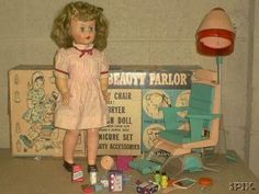Beauty Parlor Doll - my sister had one of these.