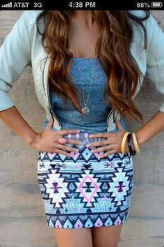 Pin Skirt Idea