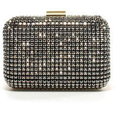 Zara Jeweled Box Clutch