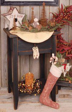 End Table - Black - Kruenpeeper Creek Country Gifts