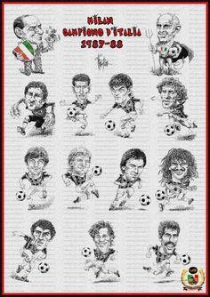 11° Scudetto 1987/88 - Momenti storici - Foto dell' AC Milan, la gallery di foto più ampia dei tifosi del Milan. Condividi le tue foto del AC Milan.