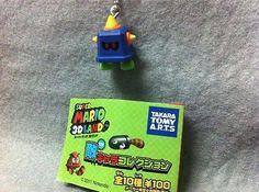 "Japan Gashapon ""Super Mario 3D Land"" Enemy Mini Figure - PRONGO"