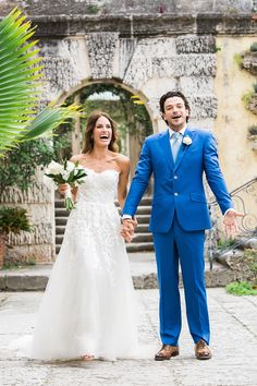 hola - Vue Photography just married and now what?! Vizcaya Museum and Gardens  dress by: Mira Zwillinger Grooms suit: Michael Andrews Bespoke
