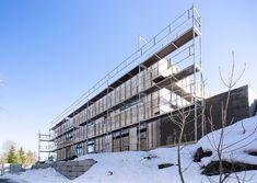 Ekstrem forandring: Fra trepanel til murfasade på rekordtid - Byggmakker Multi Story Building