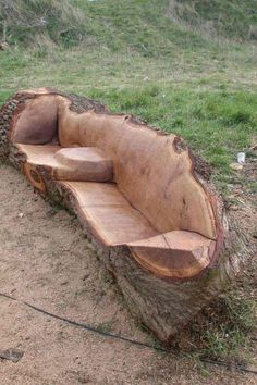 Awesome wooden chair