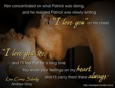 Love Comes Silently - Andrew Grey