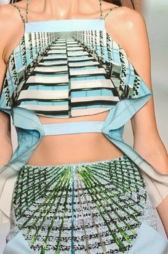 patternprints journal: PRINTS, PATTERNS AND DETAILS FROM S/S 14 WOMENSWEAR COLLECTIONS, LONDON FASHION WEEK / Peter Pilotto