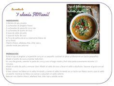 Sopa de fideos con curry tailandés picante