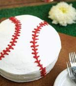 baseball but turn the icing yellow and poof you have a softball