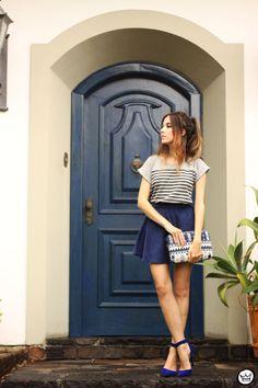 Look du jour: Petit Sesame    por Flávia Linden | Fashion coolture       - http://modatrade.com.br/look-du-jour-petit-sesame