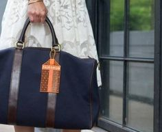 DIY Bag Tag | Whimseybox