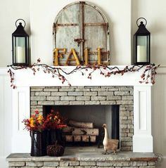Like the wood surround of the fireplace