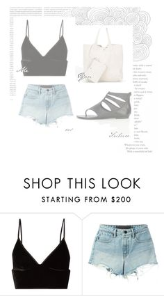 """""""Summer"""" by tamires-barlette on Polyvore featuring moda, T By Alexander Wang e Oris"""