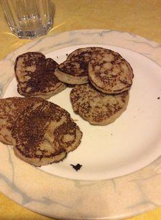 Pancake diététique au son d'avoine et banane