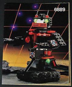 LEGO 6889 Recon Robot Spyrius Space Minifigure Retired