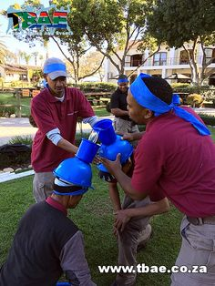 Bucket Challenge Team Building Activity