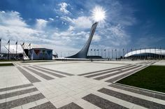 Olympic Park in Sochi, Russia  #russia #olympics #sochi #winterolympics #olympicgames #sochi2014 #winterolympics