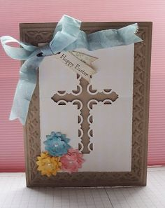 another kewl use for Stampin' Up!'s Scallop Trim Corner Punch