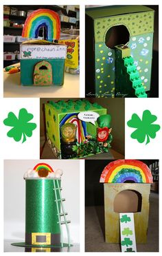Variety of Leprechaun Traps.  FUN!