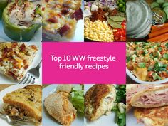 Top 10 WW freestyle friendly recipes by drizzle me skinny