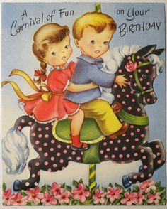 Carnival of Fun ~ Cute Birthday Card