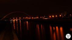 Nouveau Pont sur le Rhin à Strasbourg...