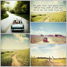 It's your road. #moodboard #mosaic #collage #inspirationboard #byJeetje♡