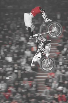 supercross by mistemistemoon Mx Bikes, Motocross Bikes, Freestyle Motocross, Vintage Cycles, Dirtbikes, Types Of Races, Extreme Sports, My Ride, Girls Be Like