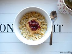 Delicious blog: Kaše...nejen ovesná Oatmeal, Healthy Recipes, Healthy Food, Blog, Breakfast, Health Foods, Morning Coffee, Healthy Nutrition, Healthy Eating Recipes