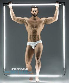 New Geo Lace underwear line by Modus Vivendi Greek Fashion, Boy Fashion, Underwear Brands, Male Underwear, Swimwear Brands, Most Beautiful Man, Big Men, Male Models, Physique