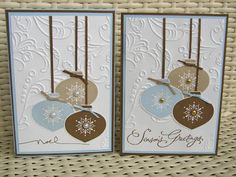 Stamp My Day: Delightful Ornaments