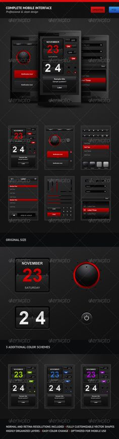 Complete Mobile Interface