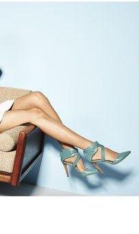 blue heels ///
