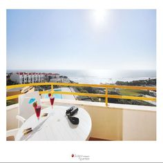 Enjoy the view from the balcony. Balcony, Surfing, Villa, Sunset, Gallery, Roof Rack, Balconies, Surf, Sunsets