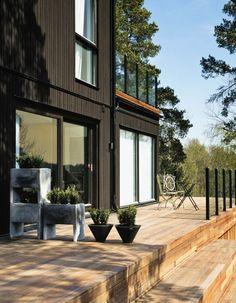 Maison en bois moderne et design