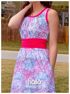 carefree dress for women pattern