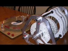 perpetual magnetic motor free energy generator neodymium magnets true false planes - YouTube