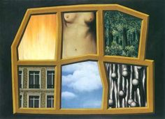 "René Magritte Belgian 1898 - 1967 ""The Six Elements"""