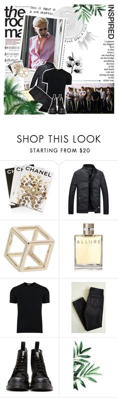 """""""""""Feel like a fool"""" // #botiGOT7s"""" by niamho99 ❤ liked on Polyvore featuring Assouline Publishing, Topshop, Chanel, Dolce&Gabbana, BDG, Dr. Martens, men's fashion and menswear"""