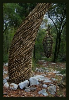 Spencer Byles, Sculpture No 7, A Year in a French Forest. 2011-2012