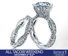 Hollywood comes to the Twin Cities for one weekend only and you are invited. Join us on December 4th & 5th as we roll out the Tacori blue carpet, enjoy appetizers, a full bar and music while you shop at Arthur's Jewelers