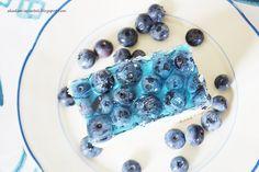 Akademia Ciastek... i nie tylko: Niebieski śmietanowiec z borówkami Blue Cakes, Blueberry Cake