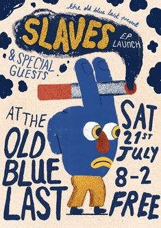 'Slaves' poster by artist and graphic designer Liam Barrett. Graphic Design Posters, Graphic Design Illustration, Graphic Design Inspiration, Illustration Art, Typography Design, Poster Designs, Art Design, Cover Design, Design Layouts