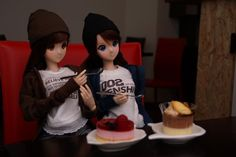 Smart Doll Mirai Suenaga and Kizuna Yumeno by kaz04032